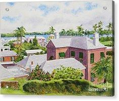 Bermuda Light Acrylic Print by Karol Wyckoff