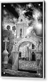 Bernal Church Acrylic Print