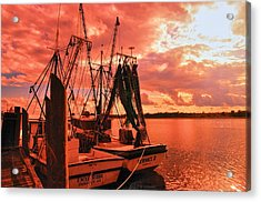 Acrylic Print featuring the photograph Bernice And Bubba by Dennis Baswell