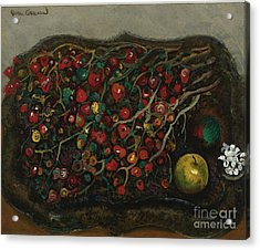Berries And Apples Acrylic Print