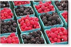 Berries Acrylic Print by Brenda Pressnall