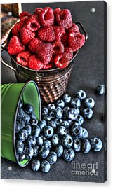 Berries Acrylic Print by Jimmy Ostgard