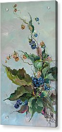 Berries Acrylic Print by Steven Nevada