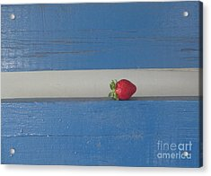 Acrylic Print featuring the photograph Berry Blues by Christina Verdgeline