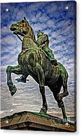 Acrylic Print featuring the photograph Bertrand Du Guesclin by Elf Evans