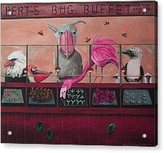 Bert's Bug Buffet Edit 2 Acrylic Print