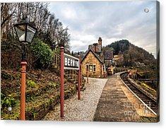 Berwyn Station Acrylic Print by Adrian Evans