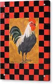 Beryl's Rooster Acrylic Print