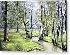 Beside Still Waters Acrylic Print