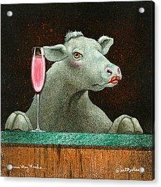 Bessie Mae Moocho... Acrylic Print