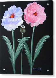 Acrylic Print featuring the painting Best Buds by Suzanne Theis