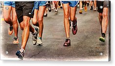 Best Foot Forward Acrylic Print