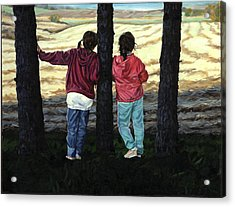 Best Friends - Schomberg Acrylic Print