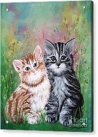 Best Friends Acrylic Print by Dani Abbott