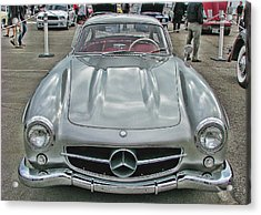 Best In Show Mercedes Benz 300sl Gullwing Acrylic Print