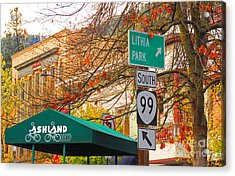 Best Little Town In Oregon Acrylic Print by Kris Hiemstra