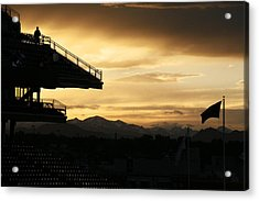 Best View Of All - Rockies Stadium Acrylic Print by Marilyn Hunt