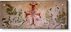 Bet She'an Christian Fresco  Acrylic Print