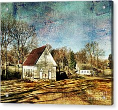 Bethany Baptist Church Enid Ms Acrylic Print