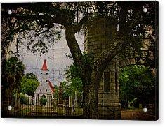 Bethany Cemetery Entryway Acrylic Print