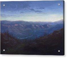 Bethel Ridge Sunrise Acrylic Print by Charles Smith