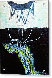 Bethlehem And Mary Acrylic Print by Gloria Ssali