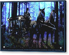 Bethlehem Ghosts Acrylic Print by Tom Straub