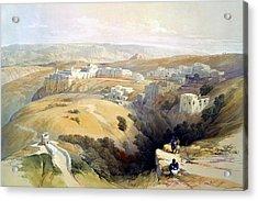 Bethlehem  Acrylic Print