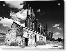 Bethlehem Steel Acrylic Print by John Rizzuto