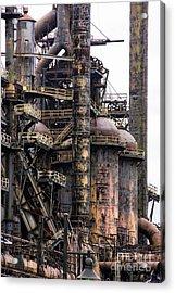 Bethlehem Steel Series Acrylic Print by Marcia Lee Jones