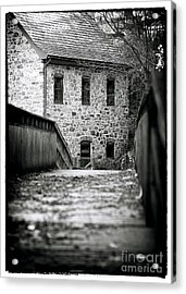 Bethlehem Waterworks Acrylic Print by John Rizzuto