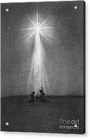 Bethlehem's Star Acrylic Print by J Ferwerda