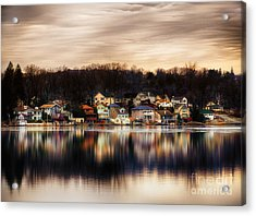Betrand Island Acrylic Print by Mark Miller