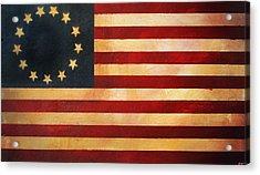 Betsy Ross Flag Acrylic Print