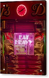 Betsy's Diner Acrylic Print