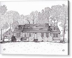 Betsy's House Acrylic Print