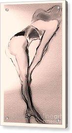 Bette Showgirl Acrylic Print