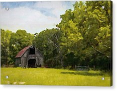 Acrylic Print featuring the painting Better Days by Jeff Kolker