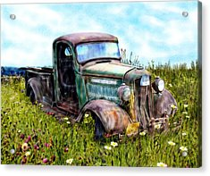 Better Days Acrylic Print by Ric Darrell