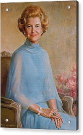Betty Ford, First Lady Acrylic Print by Science Source