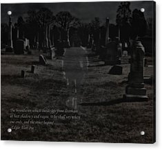 Between Life And Death Acrylic Print