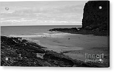 Between Rock And A Hard Place Acrylic Print by Malcolm Suttle