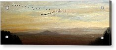 Between Sparta And Tomah 1 Acrylic Print