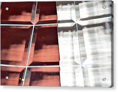 Beveled Reflection 114h Acrylic Print by Thomas Carroll