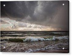 Beverly Beach Storm Acrylic Print