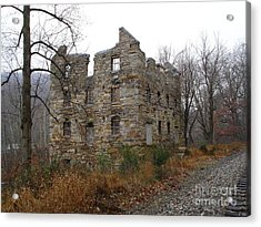 Acrylic Print featuring the photograph Beverly Chapman's Mill by Jane Ford