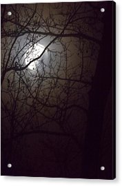 Acrylic Print featuring the photograph Beware The Rougarou Moon by John Glass