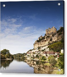 Beynac Et Cazenac Limousin France Acrylic Print by Colin and Linda McKie