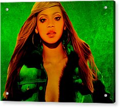 Beyonce II Acrylic Print by Brian Reaves