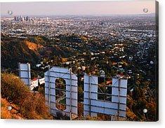Beyond Hollywood Acrylic Print